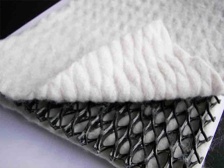 三维复合排水网(土工排水网)